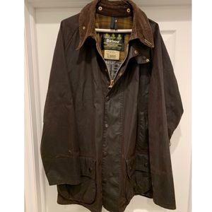 Gently worn! Men's Barbour Classic Beaufort Jacket